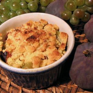 crumble mi-figue, mi-raisin