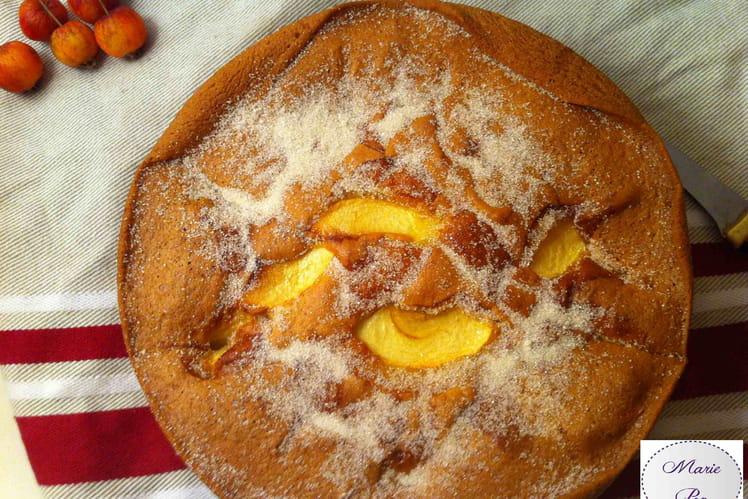 Gâteau aux pommes trop bon
