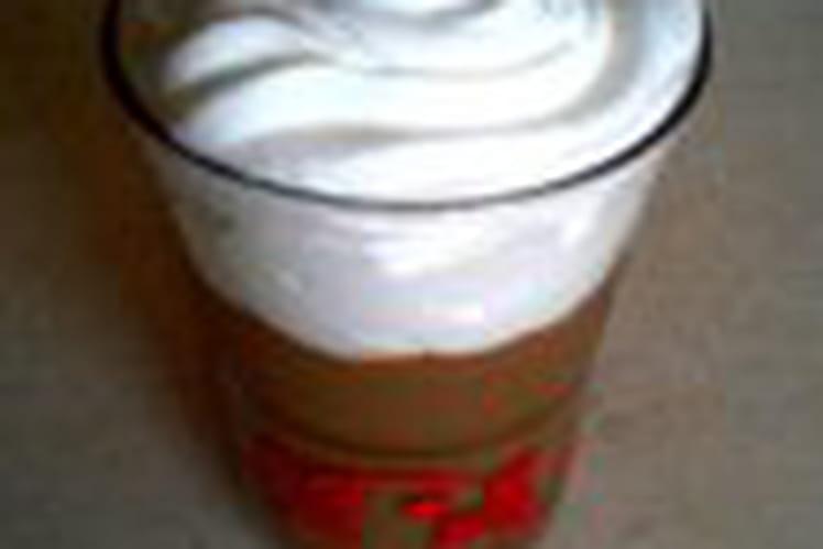 Crème liégeoise au café
