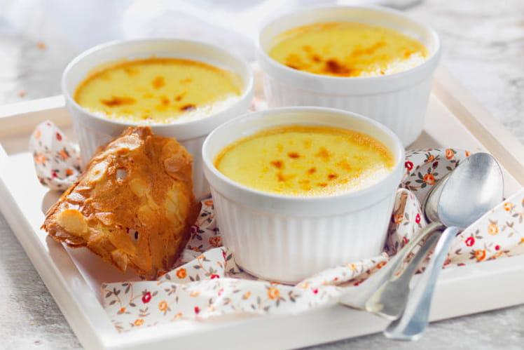 Crème caramel au St Môret®