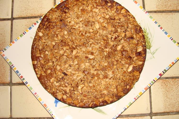Gâteau chocolat et noix de cajou