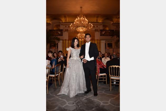 Donna Yuan et son cavalier Marco Lam