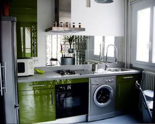 Avec cr dence miroir - Credence en miroir pour cuisine ...