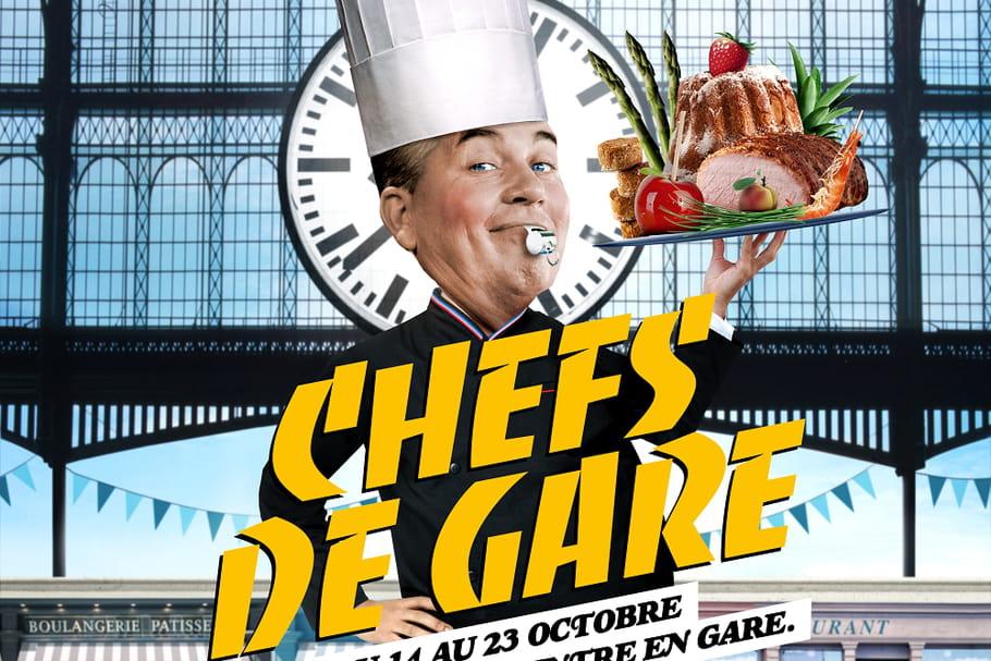 """""""Chefs de gare"""": la gastronomie se met sur les rails"""