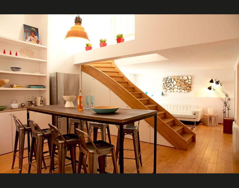 Un appartement aux mille facettes déco