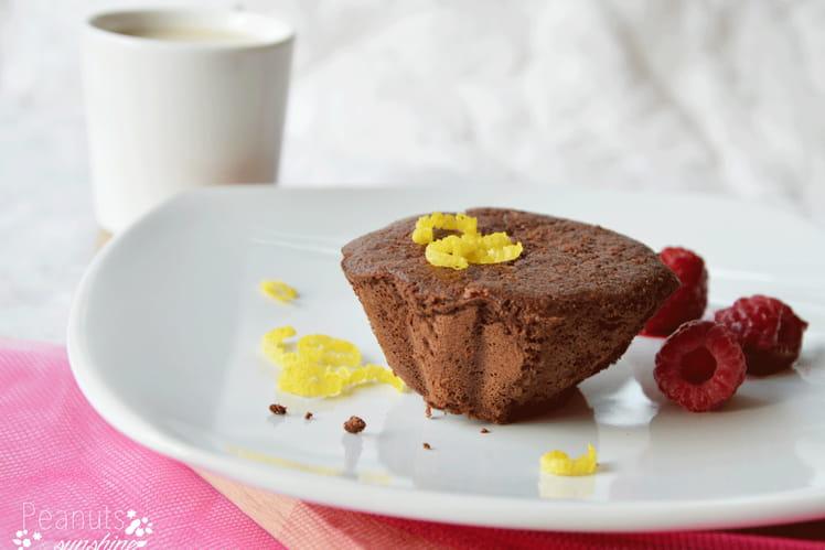 Moelleux au chocolat sans gluten et sans lactose light