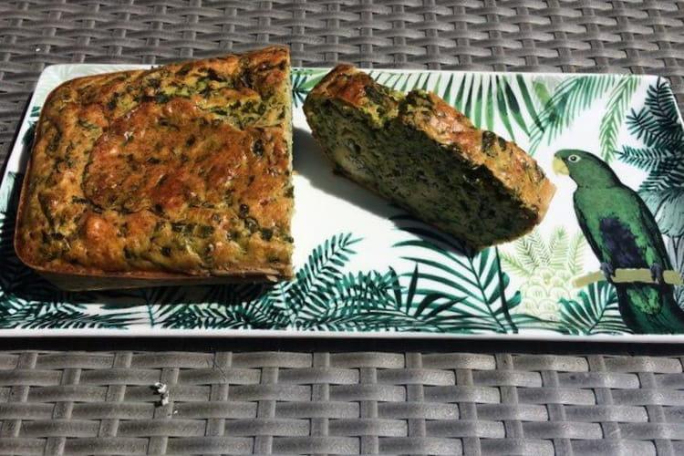 Cake aux feuilles de bettes et Gorgonzola
