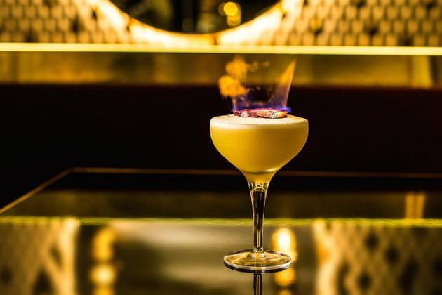 Le bar et ses enivrants cocktails