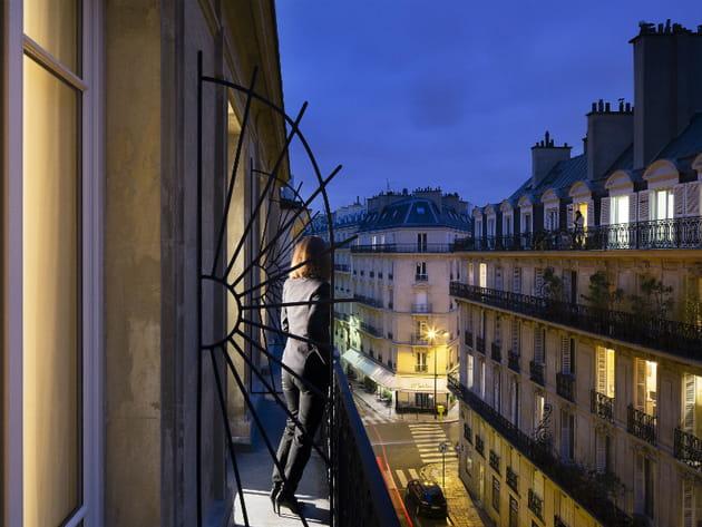 Un pied dans les beaux quartiers parisiens