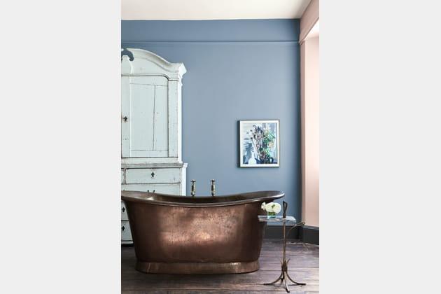 peinture grey stone light peachblossom et scree de little greene. Black Bedroom Furniture Sets. Home Design Ideas