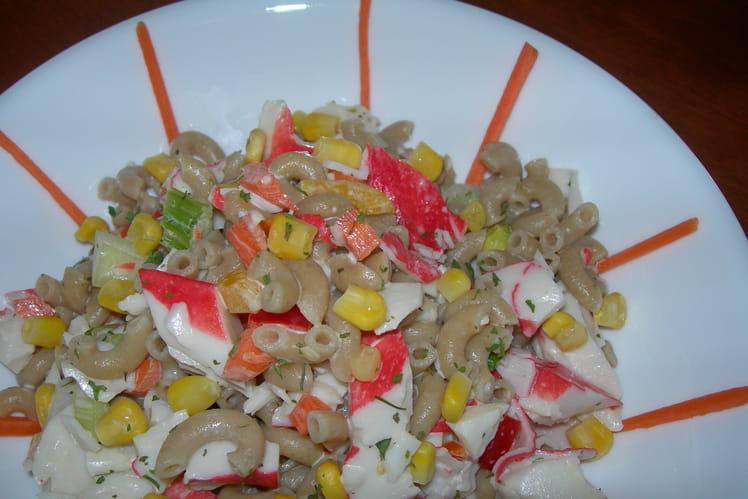 Salade de goberge orangée