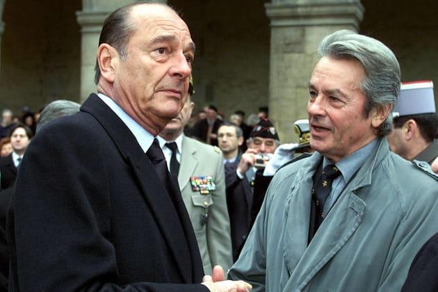 Impliqué face à Jacques Chirac