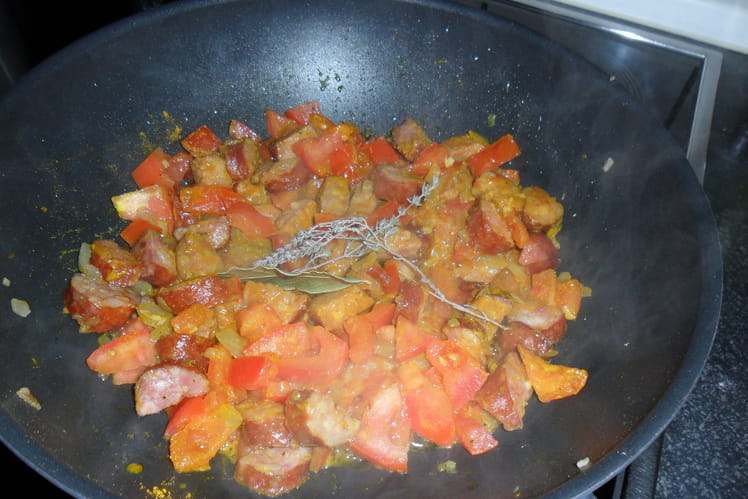 Rougail saucisses traditionnel