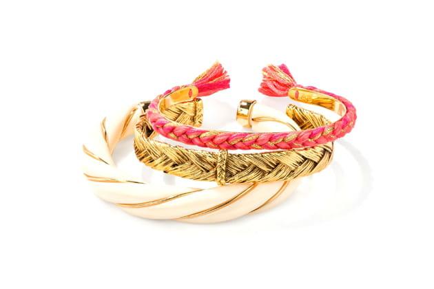 """Bracelets """"DIANA IVOIRE"""" de Aurélie Bidermann"""