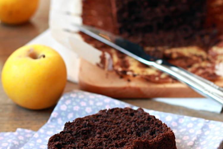 Cake au chocolat noir allégé