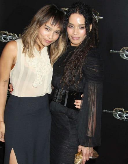 Zoë Kravitz et sa mère Lisa Bonet