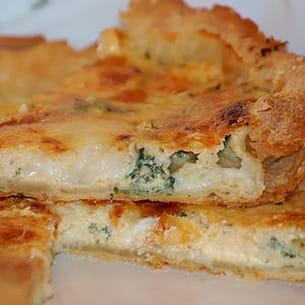 tarte aux trois fromages