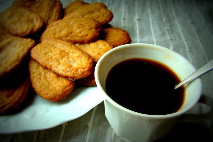 Sablés au café