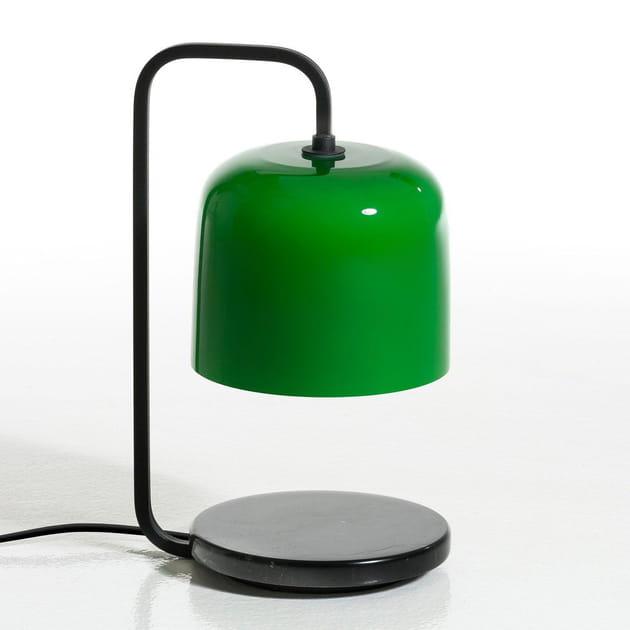 La lampe vert bouteille