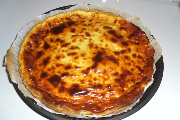 Tarte au fromage bressane