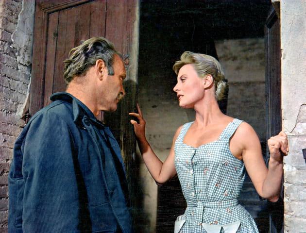 Avec Leif Erickson, 1957
