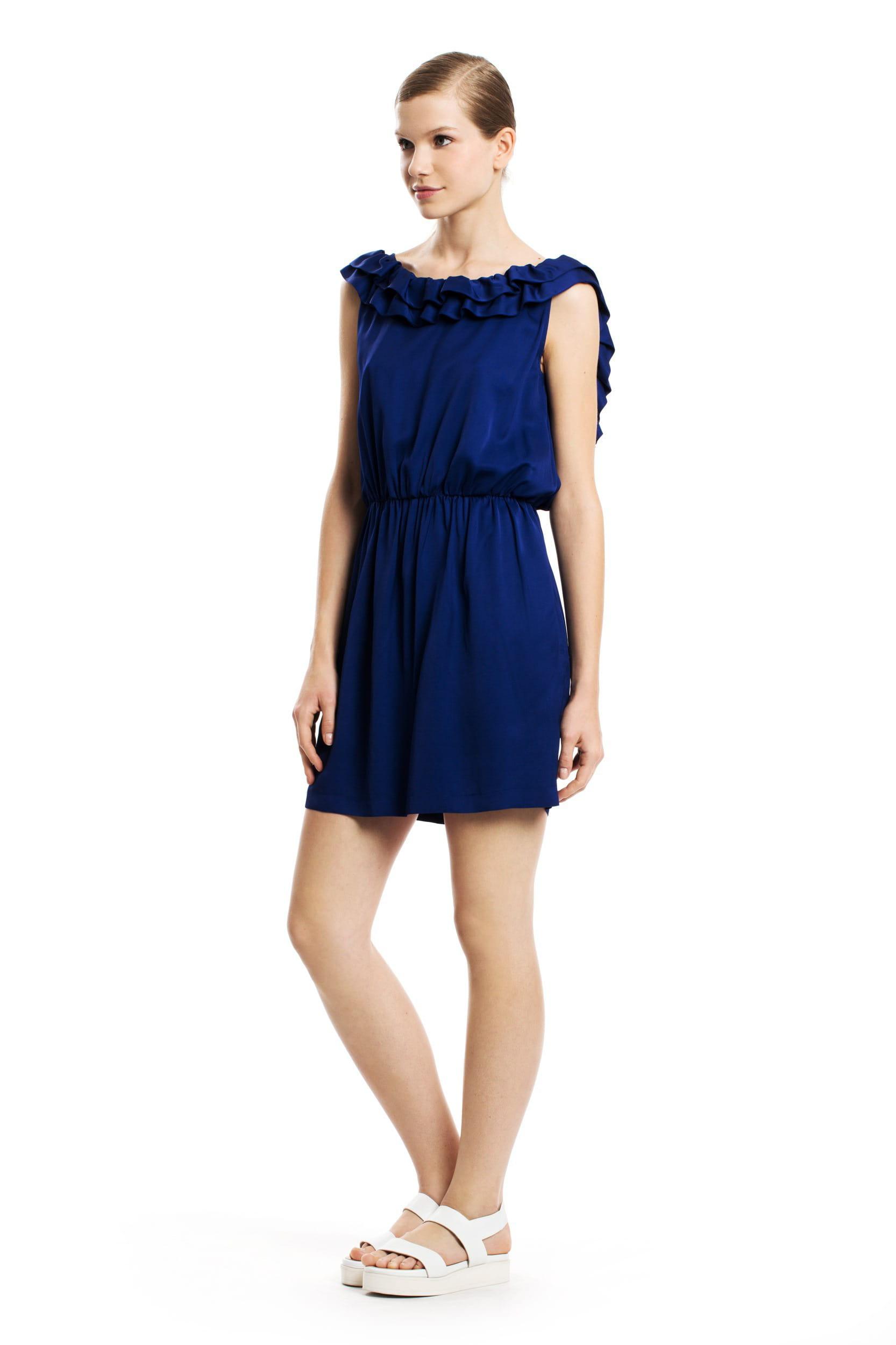 robe bleu lectrique de tara jarmon - Robe Bleu Electrique Mariage