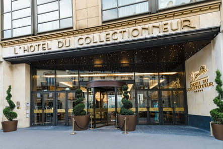 Visite de l'hôtel du Collectionneur, le luxe version Art Déco