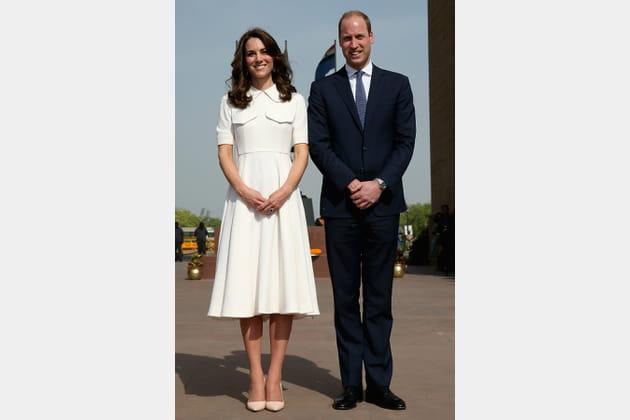 Kate Middleton le 11avril 2016