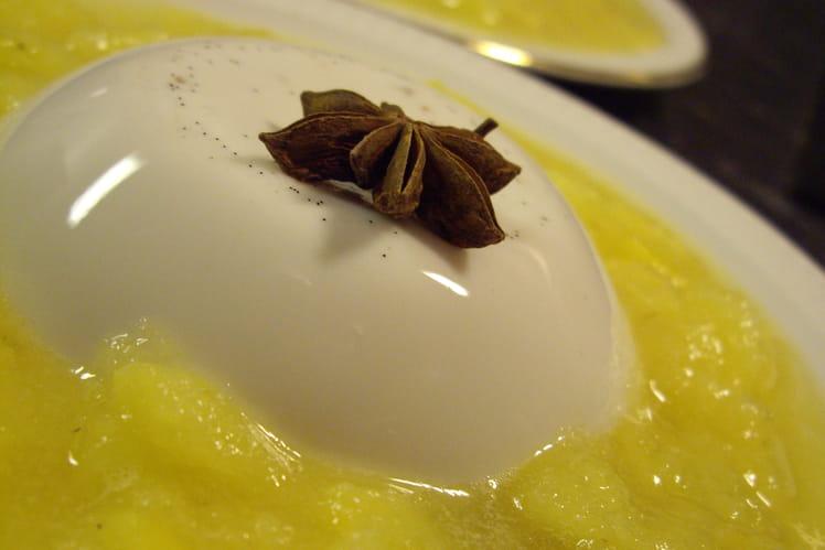 Panna Cotta ananas-coco