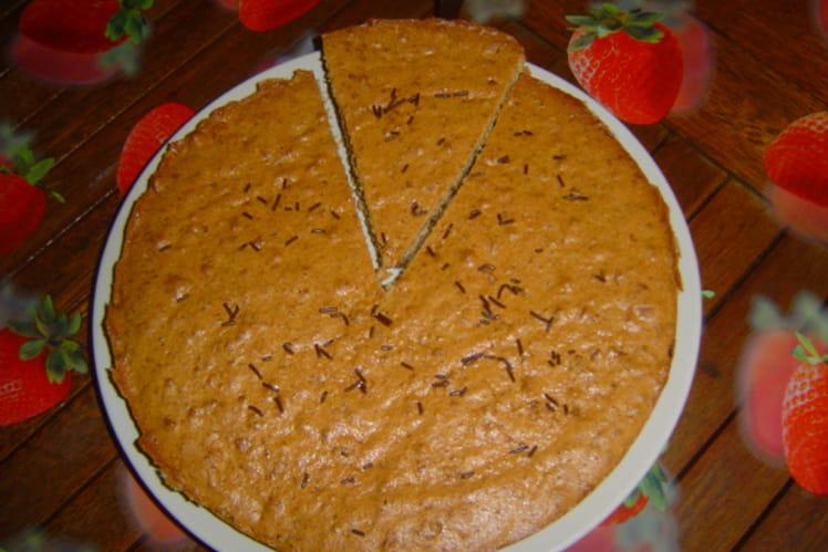 Gâteau speculoos