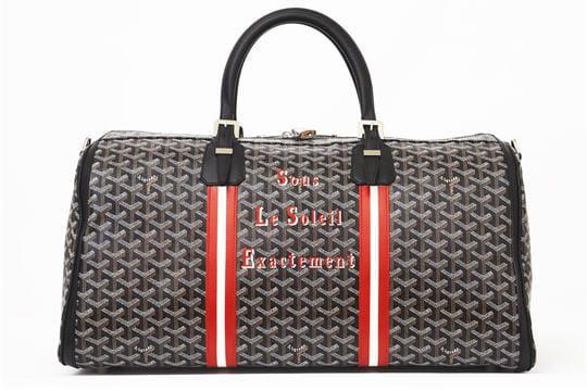 Le sac Croisière 50 cm noir de Charlotte Gainsbourg