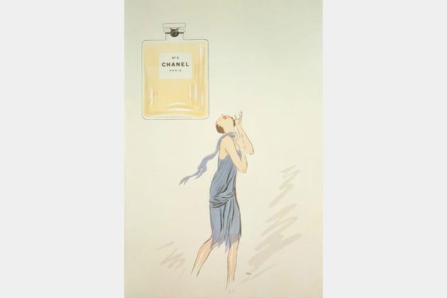 La campagne Chanel N°5de 1921