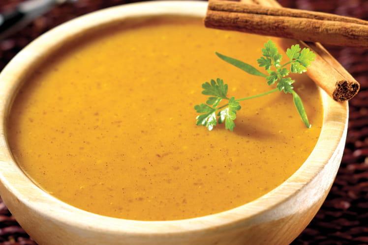 Velouté de carottes aux épices et tapioca Tipiak®