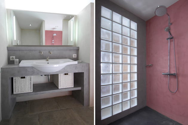 Duo gagnant de gris et rose for Enlever odeur cigarette chambre