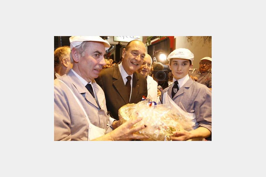 Jacques Chirac : salon de l'agriculture
