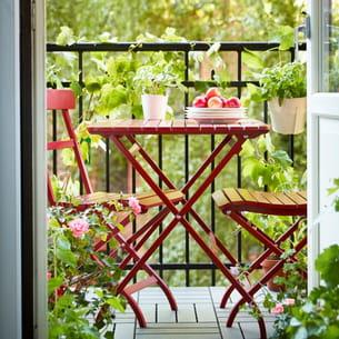 set table et chaises malaro d'ikea