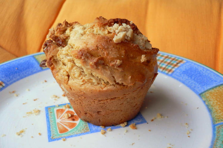 Muffins cajou-orange