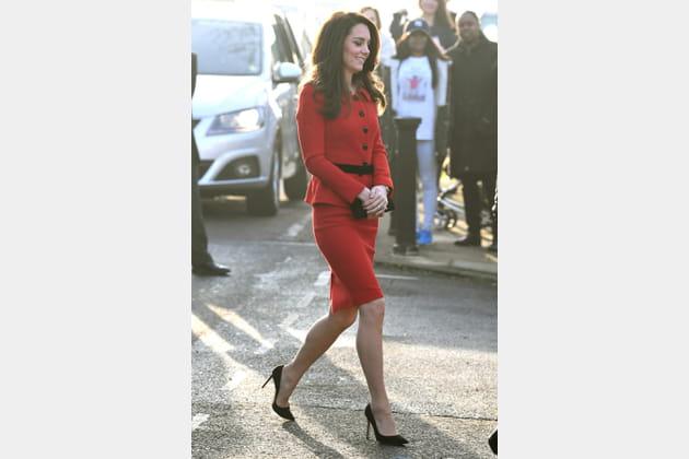 Kate Middleton le 6février 2017