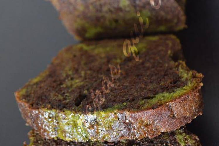 Marbré ultra moelleux aux pistaches et chocolat