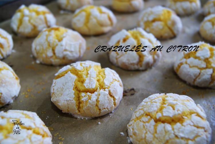 recette de biscuits craquel s au citron ou lemon crinkles la recette facile. Black Bedroom Furniture Sets. Home Design Ideas