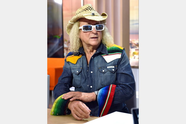 Michel Polnareff, cow-boy des temps modernes