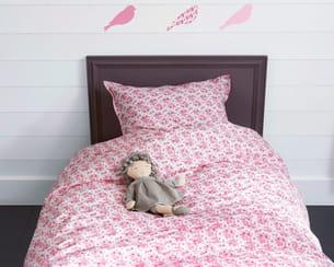 parure de lit 'fleurs' de cyrillus