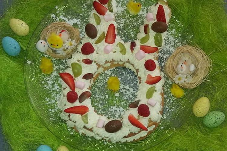 Number cake de Pâques
