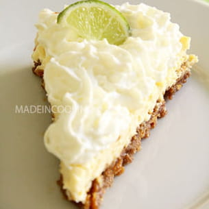 cheesecake aux citrons verts