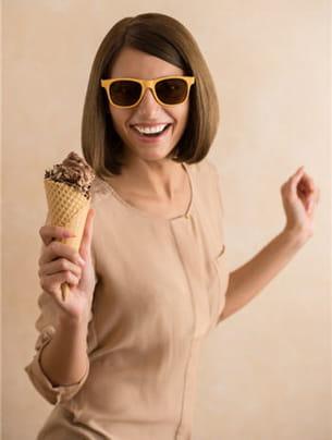 plutôt crème glacée ou sorbet ?