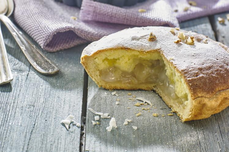 Gâteau noix de coco ananas Tourment d'amour