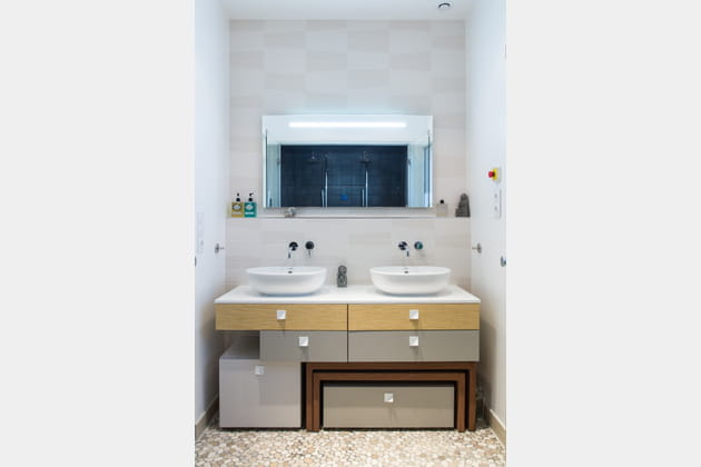 Une salle d'eau hammam