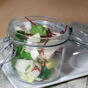 salade croquante printanière