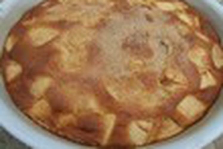 Gâteau aux pommes basique