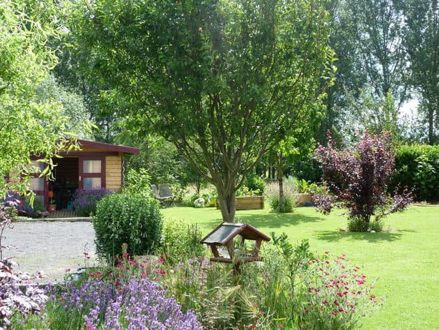 Cabane et p tanque for Cabanes de jardin belgique